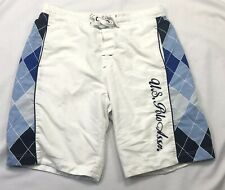 U.S. Polo Assn. White Men's Summer/Surfing Shorts Size (36 x 8)