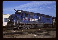 Original Slide VMV Conrail Paint SDP45 6697 In 1989 At Monterrey NL Mexico