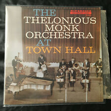 Jazz Vinyl Disc Lp Record Thelonous Monk Orch TOWN HALL Riverside  Microgroove