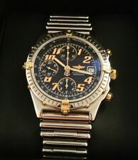 MEN'S BREITLING CHRONOMAT SWISS AUTOMATIC WATCH W/ RARE BULLET BAND