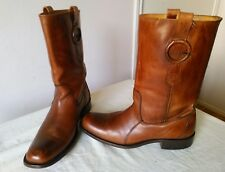 High Quality FRYE all leather men's brown campus? Heavy Duty boots Size 11 1/2 D