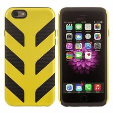 iPhone 6 Case Ultra Cool Modern Style Yellow on Black Smart Phone