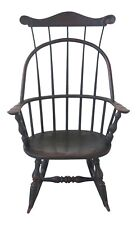 48644EC: Bench Made Hand Crafted Country Windsor Childs Rocker