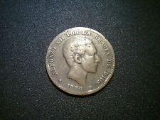 Espagne 1879 10 centimes pièce