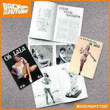 Zurück in die Zukunft / Back to the Future Film Prop - OH LALA Magazin Heft