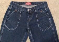 Stronghold Los Angeles Trouser Style Straight Leg Button Fly Jeans Sz 25 27x32