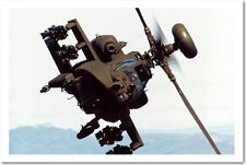Apache AH-64 D Longbow Army Attack Helicopter  - POSTER