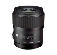 SIGMA 35mm f/1.4 EX DG ART Lens CANON + 4 YEAR WARRANTY T5i T6i 70d 60d 5dmkII