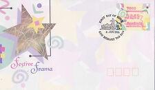 1996 Festive Frama FDC - GPO Hobart Tas 7000 PMK