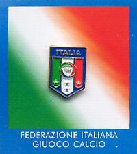 PINS SPILLA FIGC ITALIA  SMALTATA PERFETTA ORIGINALE NUOVE CONFEZIONE ORIGINALE