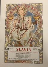 Alphonse Mucha Slavia Museum Edition Fine Art Lithograph ME 2/35 S2