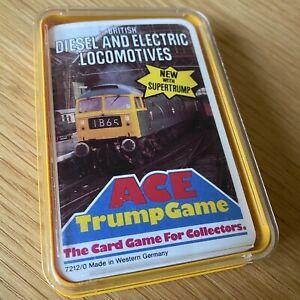 British Diesel & Electric Locomotives Complete Set Ace Top Trump Game