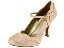 Ruby Shoo Imogen Ladies High Slim Heel Court Shoes - Add Matching Bag Charleston