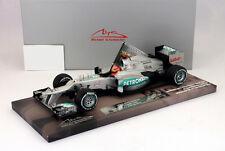 M. Schumacher Mercedes GP W03 Last Race Sao Paolo Formel 1 2012 1:18 Minichamps