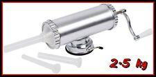 Sausage Machine Filler XXL 2.5kg Aluminum Sausage Meat Stuffer Maker Kitchen BIO