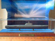 U Boot XXI Modell in Vitrine Remo Recknitz Kunath Einzelstück.Klaus Kunath