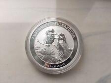 2011 Australia Silver Kookaburra 1 Oz 999 Fine Silver Coin Mint BU from Roll