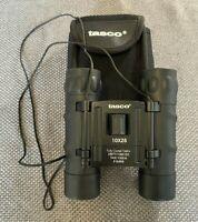 Tasco #168RB Compact Binoculars 10x25 Fully Coated Optics With Case