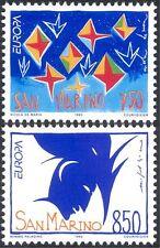 San Marino 1993 Europa/Modern Art/Contemporary/Painting/Artists 2v set (n44101)