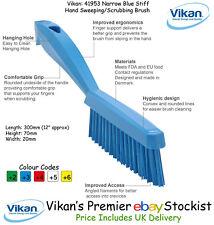 Vikan professionnel recouvert de tissu tapis brosse Slim Stiff Soies Bleu 41953