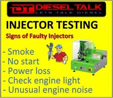 MAZDA DIESEL INJECTOR TESTING. SEND US YOUR INJECTORS FOR FULL TEST.