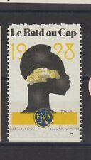 Poster Stamp Belgium Car 1928