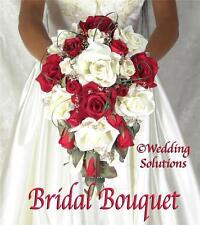 LOVE CAMILLE Wedding Bouquet Bouquets Bridal Bridesmaid Groom Flowers silk