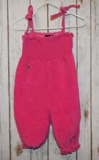Ralph Lauren beach terry cloth bathing suit cover up jumper 12 m Toddler Pink