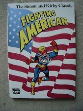 Fighting American Hardcover Signed COA Joe Simon Limited 500 Copy Edition Kirby