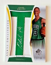 2007-08 SP Authentic GABE PRUITT AUTOGRAPH LETTER PATCH #/50 RC-GP CELTICS