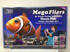 Remote Control 5 ft long Flying Clownfish Clown Fish goldfish gold 27 MHz