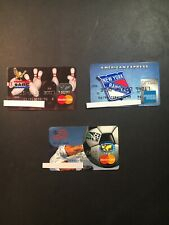 3 Vintage Expired Credit Cards For Collectors - Sports Lot (6110)