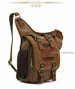 Men's Travel Backpack CrossBody Shoulder Messenger Bags Chest Hiking Satchel HOT