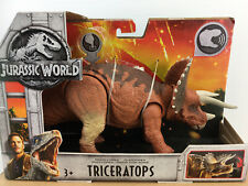 JURASSIC WORLD *TRICERATOPS ROARIVORES DINOSAUR TOY FIGURE. 2017. NEW!.