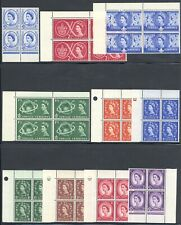 Great Britain Gb 1957-1970 Qeii Elizabeth Blocks Collection Mnh £488+/$615+