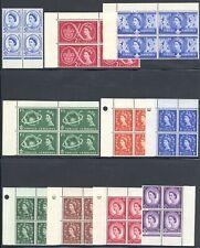 Great Britain Gb 1957-1970 Qeii Blocks Selection Mnh £488+/$615+