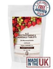 A-Z Multivitamins and Minerals Capsules Choose How Many KOSHER