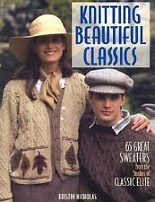 Knitting Beautiful Classics: 65 Great Sweaters from the Studios of Cla-ExLibrary