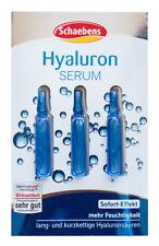 Schaebens HYALURON SERUM Hyaluronsäure Sofort Effekt 3 Ampullen Gesichtsmaske
