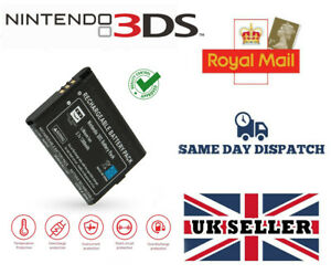 REPLACEMENT BATTERY FOR NINTENDO 3DS CONSOLE 1300MAH WITH SCREWDRIVER - NEW