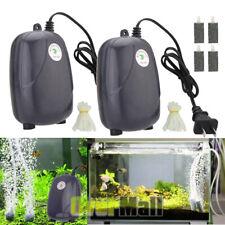 Oxygen Air Pump Aquarium Fish Tank Super Silent Adjustable Efficient High Energy