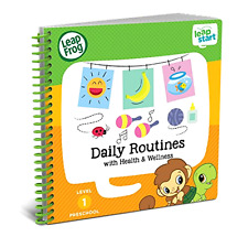 Leap Frog Leap Start Preschool Activity Book Daily Routine Health Wellness Music