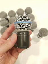 Shure SM58 Beta A Wireless Capsule - Lot of 13 + 1 Free Daddy Capsule