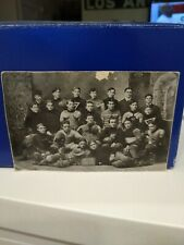 Vintage original early 1900's football team photo ANTIQUE