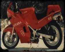 Gilera Kz 125 87 5 A4 Metal Sign Motorbike Vintage Aged