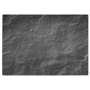 Natural Slate Tempered Glass Chopping Board