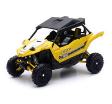 57813b Yamaha YXZ1000R 1:18 Side X Side Off Road Vehicle Yellow New Ray Model