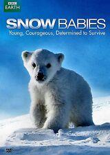 NEW DVD / BBC EARTH - SNOW BABIES -  + POLAR BEAR - SPY ON THE ICE - 2 FEATURES