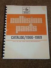 1966-1969 AMC Parts Catalog for Marlin,AMX,Javelin,Rebel,Ambassador,Rambler,MORE