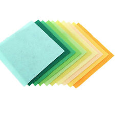 40Pc Felt Sheets 15*15cm Square Quilting Patchwork Diy Handcrafts Supply E99